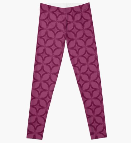 Two-tone Abstract Pattern Leggings