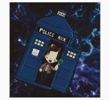 TARDIS in SPACE doctor who 11 Kids Clothes