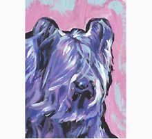 Skye Terrier Bright colorful pop dog art Unisex T-Shirt
