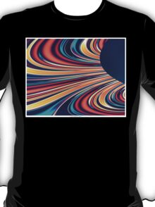 Color and Form Abstract - Solar Gravity and Magnetism 2 T-Shirt