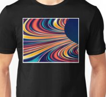 Color and Form Abstract - Solar Gravity and Magnetism 2 Unisex T-Shirt