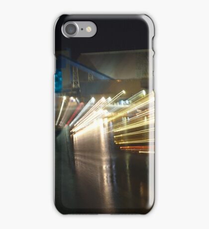 Light Trails From a Freighter iPhone Case/Skin