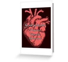 You Make My Heart PVC Greeting Card