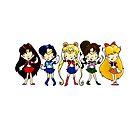 Sailor Scouts! by Bantambb