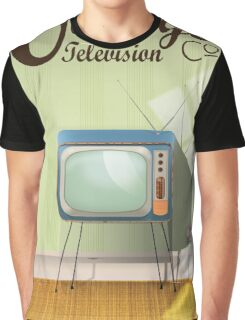 Vintage Television Co. Commercial Graphic T-Shirt