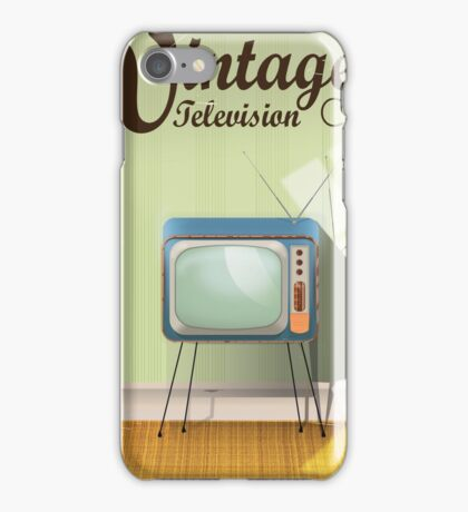 Vintage Television Co. Commercial iPhone Case/Skin