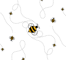 Busy as a Bee Sticker