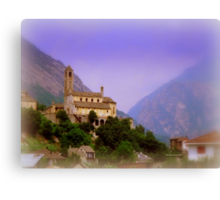 Swiss View Canvas Print