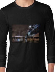 National Stadion, Poniatowski Bridge, Warsaw, Poland Long Sleeve T-Shirt