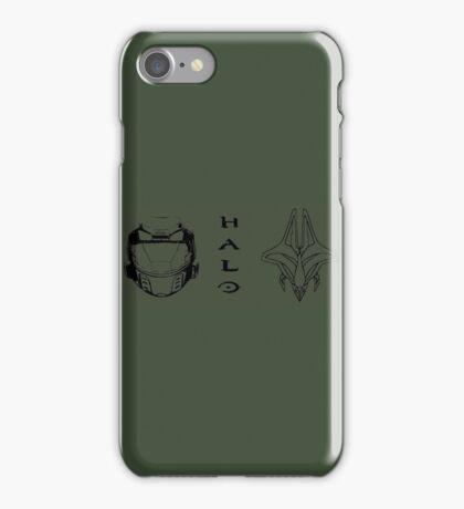 Clash of the Titans - Halo  iPhone Case/Skin