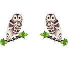 Owl Travel Mug by cdwork