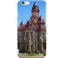 City Hall, Lockhart, Texas  iPhone Case/Skin