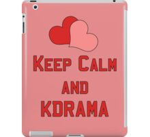 Keep Calm... iPad Case/Skin