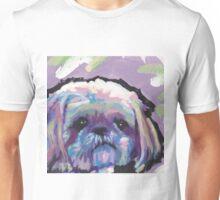 Shih Tzu Bright colorful pop dog art Unisex T-Shirt