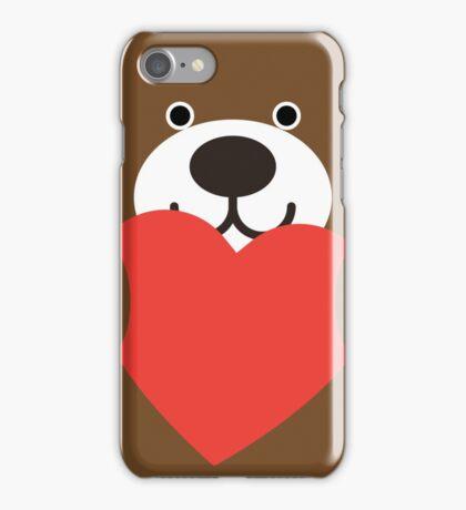 Teddy Bear Heart iPhone Case/Skin