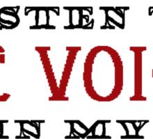The Voices Sticker