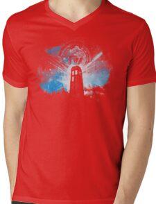 the lighthouse of gallifrey Mens V-Neck T-Shirt