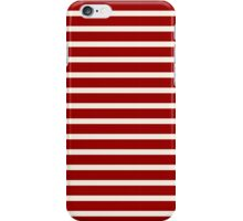 Red and White Stripes iPhone Case/Skin