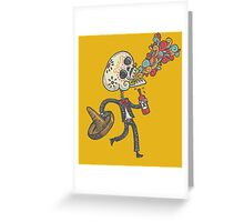 El mariachi Greeting Card