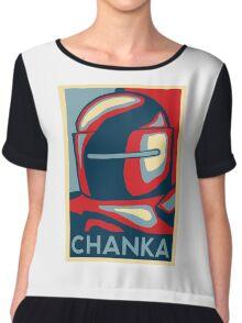 4 ever Tachanka Chiffon Top