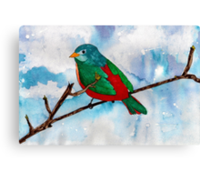 Bright Bird Canvas Print