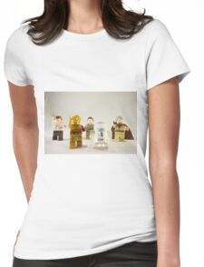 Faceless Zombies Womens Fitted T-Shirt