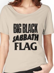 Big Black Sabbath Flag Women's Relaxed Fit T-Shirt