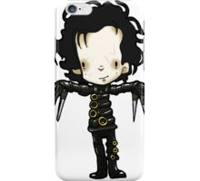 Edward with the hands of Scissors iPhone Case/Skin