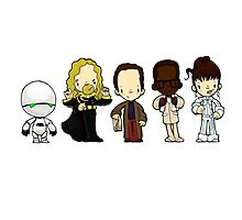 Hitchhiker's guide to the galaxy Photographic Print