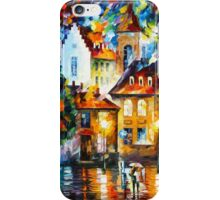 LUXEMBURG NIGHT - Leonid Afremov iPhone Case/Skin