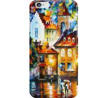 LUXEMBURG NIGHT - Leonid Afremov iPhone Case/Skin