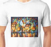 LUXEMBURG NIGHT - Leonid Afremov Unisex T-Shirt