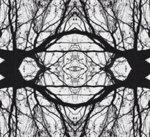 Abstract Tree Reflection Sticker