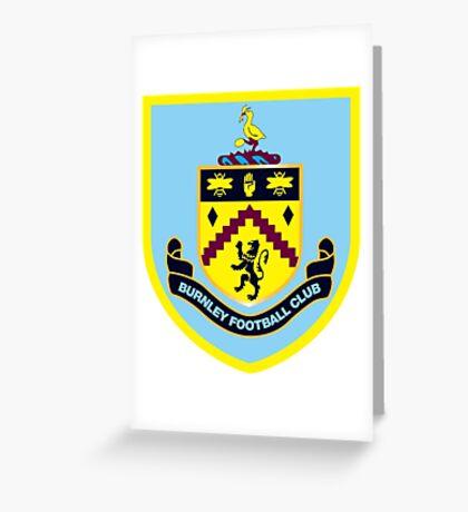 Burnley FC Greeting Card