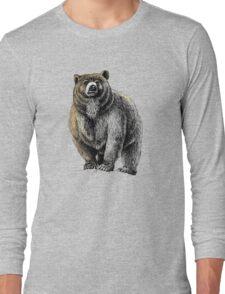 The Great Bear - A fierce protector Long Sleeve T-Shirt