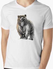 The Great Bear - A fierce protector Mens V-Neck T-Shirt