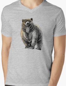 The Great Bear - A fierce protector Mens V-Neck T-Shirt