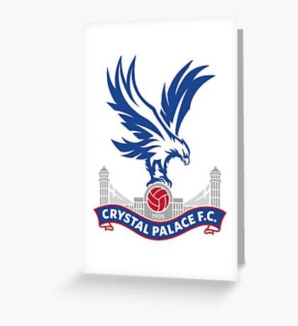 CRYSTAL PALACE F.C Greeting Card