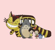 Totoro, to-to-ro Kids Tee