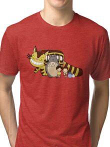 Totoro, to-to-ro Tri-blend T-Shirt