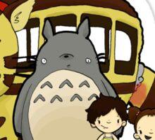 Totoro, to-to-ro Sticker