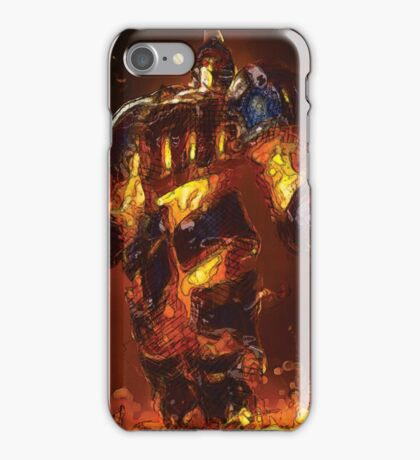 Scorched earth xerath Oil  iPhone Case/Skin