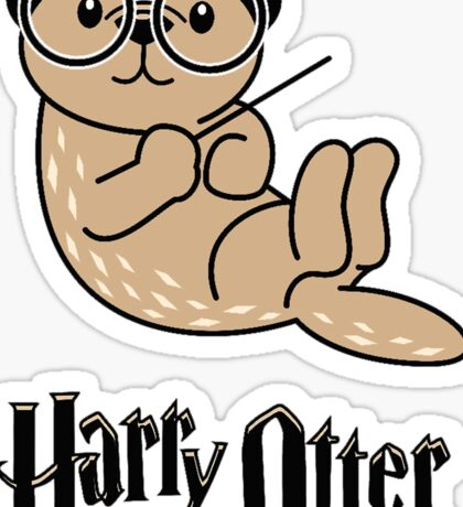 Funny Harry Otter Sticker
