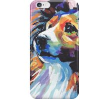 Sheltie Shetland Sheepdog Bright colorful pop dog art iPhone Case/Skin