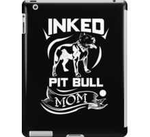 Inked Pit Bull Mom iPad Case/Skin