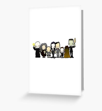 They're creepy and they're kooky Greeting Card