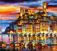 CANNES - FRANCE - Leonid Afremov by Leonid Afremov