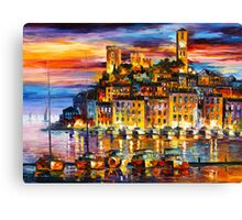 CANNES - FRANCE - Leonid Afremov Canvas Print