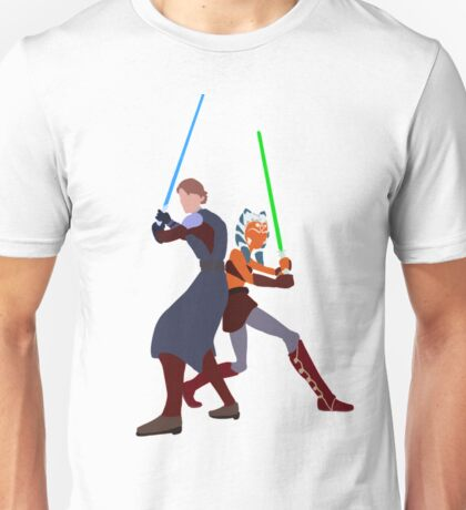 Star Wars: Anakin and Ahsoka - Master and Padawan Unisex T-Shirt