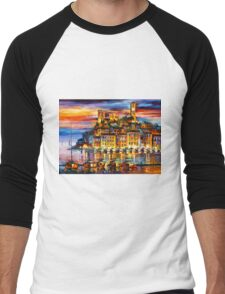 CANNES - FRANCE - Leonid Afremov Men's Baseball ¾ T-Shirt